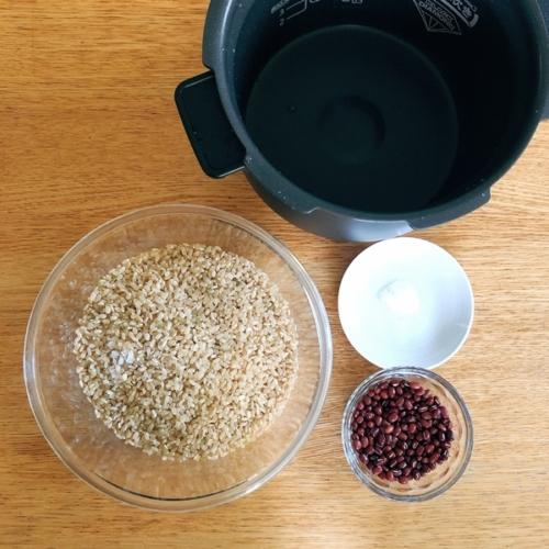 酵素玄米 材料